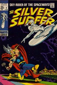 Cover Thumbnail for The Silver Surfer (Marvel, 1968 series) #4