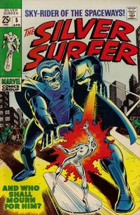 Cover Thumbnail for The Silver Surfer (Marvel, 1968 series) #5