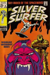 Cover Thumbnail for The Silver Surfer (Marvel, 1968 series) #6