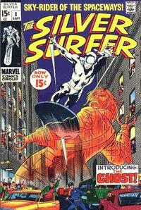 Cover Thumbnail for The Silver Surfer (Marvel, 1968 series) #8