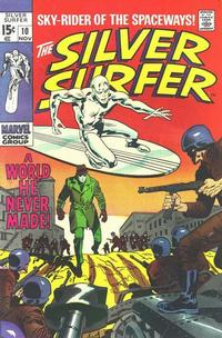 Cover Thumbnail for The Silver Surfer (Marvel, 1968 series) #10