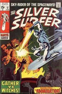 Cover Thumbnail for The Silver Surfer (Marvel, 1968 series) #12