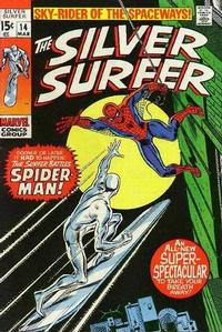 Cover Thumbnail for The Silver Surfer (Marvel, 1968 series) #14