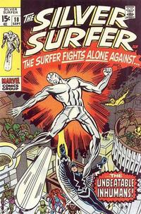 Cover Thumbnail for The Silver Surfer (Marvel, 1968 series) #18