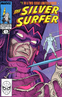 Cover Thumbnail for The Silver Surfer (Marvel, 1988 series) #1 [Direct]