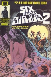 Cover Thumbnail for Six from Sirius 2 (Marvel, 1985 series) #2