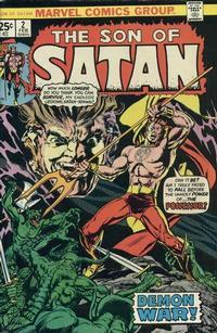 Cover Thumbnail for Son of Satan (Marvel, 1975 series) #2