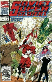 Cover Thumbnail for Soviet Super Soldiers (Marvel, 1992 series) #1