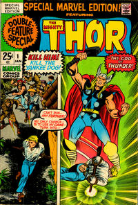 Cover Thumbnail for Special Marvel Edition (Marvel, 1971 series) #1