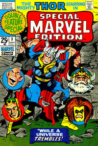 Cover Thumbnail for Special Marvel Edition (Marvel, 1971 series) #3
