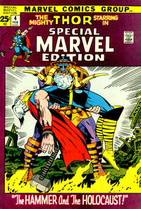 Cover Thumbnail for Special Marvel Edition (Marvel, 1971 series) #4