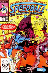 Cover for Speedball (Marvel, 1988 series) #1 [Direct]