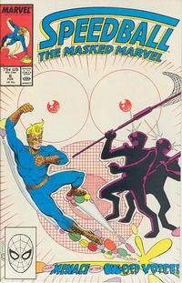 Cover Thumbnail for Speedball (Marvel, 1988 series) #6