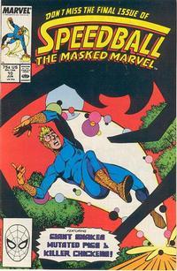 Cover Thumbnail for Speedball (Marvel, 1988 series) #10