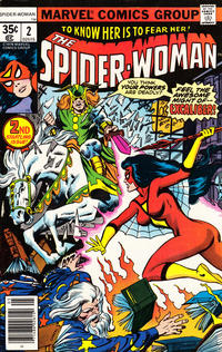 Cover Thumbnail for Spider-Woman (Marvel, 1978 series) #2