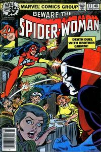 Cover Thumbnail for Spider-Woman (Marvel, 1978 series) #11