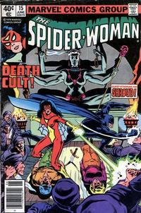 Cover Thumbnail for Spider-Woman (Marvel, 1978 series) #15 [Newsstand]