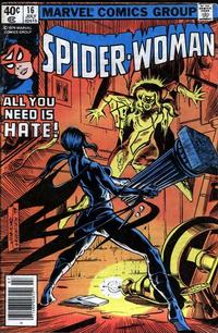 Cover Thumbnail for Spider-Woman (Marvel, 1978 series) #16 [Newsstand]