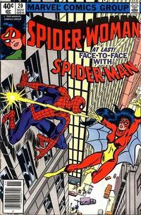 Cover Thumbnail for Spider-Woman (Marvel, 1978 series) #20 [Newsstand]