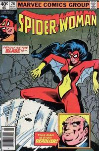 Cover Thumbnail for Spider-Woman (Marvel, 1978 series) #26 [Newsstand]