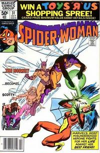 Cover Thumbnail for Spider-Woman (Marvel, 1978 series) #31 [Newsstand]