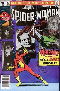 Cover Thumbnail for Spider-Woman (Marvel, 1978 series) #32 [Newsstand]