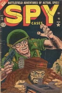 Cover Thumbnail for Spy Cases (Marvel, 1951 series) #13