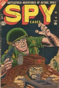 Cover Thumbnail for Spy Cases (Marvel, 1951 series) #13