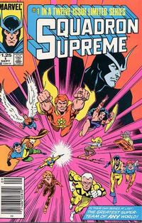 Cover Thumbnail for Squadron Supreme (Marvel, 1985 series) #1 [Newsstand]