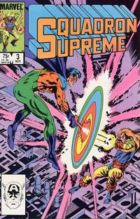 Cover Thumbnail for Squadron Supreme (Marvel, 1985 series) #3 [Direct]