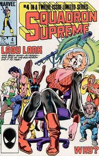 Cover Thumbnail for Squadron Supreme (Marvel, 1985 series) #4 [Direct]