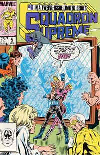 Cover Thumbnail for Squadron Supreme (Marvel, 1985 series) #5 [Direct]