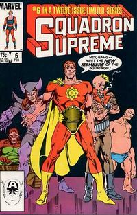 Cover Thumbnail for Squadron Supreme (Marvel, 1985 series) #6 [Direct]
