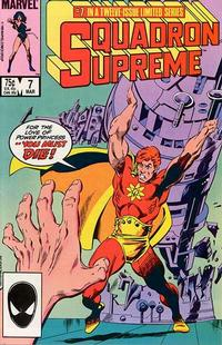 Cover Thumbnail for Squadron Supreme (Marvel, 1985 series) #7 [Direct]