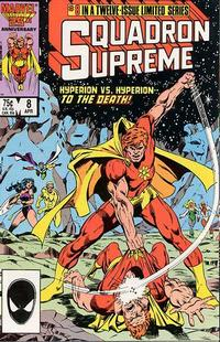 Cover Thumbnail for Squadron Supreme (Marvel, 1985 series) #8 [Direct]