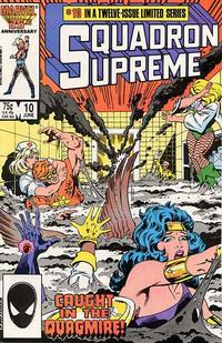 Cover Thumbnail for Squadron Supreme (Marvel, 1985 series) #10 [Direct]