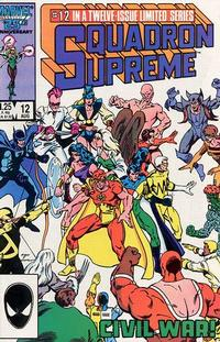 Cover Thumbnail for Squadron Supreme (Marvel, 1985 series) #12 [Direct Edition]