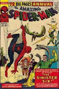 Cover Thumbnail for The Amazing Spider-Man Annual (Marvel, 1964 series) #1