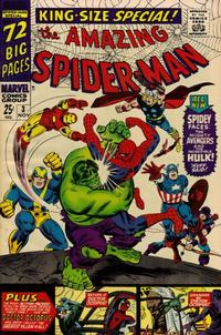 Cover Thumbnail for The Amazing Spider-Man Annual (Marvel, 1964 series) #3