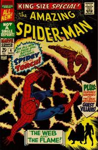 Cover Thumbnail for The Amazing Spider-Man Annual (Marvel, 1964 series) #4