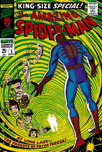 Cover Thumbnail for The Amazing Spider-Man Annual (Marvel, 1964 series) #5