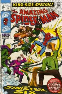 Cover Thumbnail for The Amazing Spider-Man Annual (Marvel, 1964 series) #6