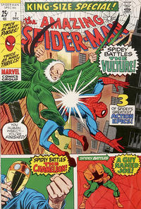 Cover Thumbnail for The Amazing Spider-Man Annual (Marvel, 1964 series) #7