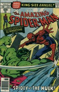 Cover Thumbnail for The Amazing Spider-Man Annual (Marvel, 1964 series) #12