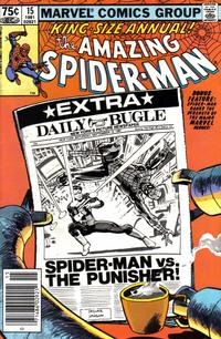 Cover Thumbnail for The Amazing Spider-Man Annual (Marvel, 1964 series) #15 [Newsstand]