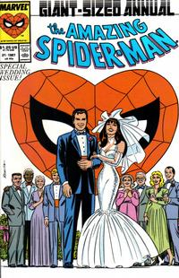 Cover for The Amazing Spider-Man Annual (Marvel, 1964 series) #21 [Direct Edition]