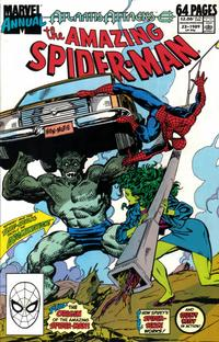 Cover Thumbnail for The Amazing Spider-Man Annual (Marvel, 1964 series) #23 [Direct Edition]