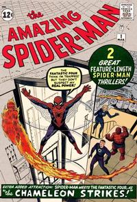 Cover Thumbnail for The Amazing Spider-Man (Marvel, 1963 series) #1