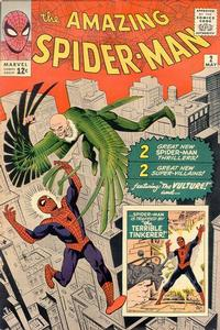 Cover Thumbnail for The Amazing Spider-Man (Marvel, 1963 series) #2 [Regular Edition]