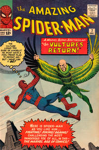 Cover Thumbnail for The Amazing Spider-Man (Marvel, 1963 series) #7 [Regular Edition]